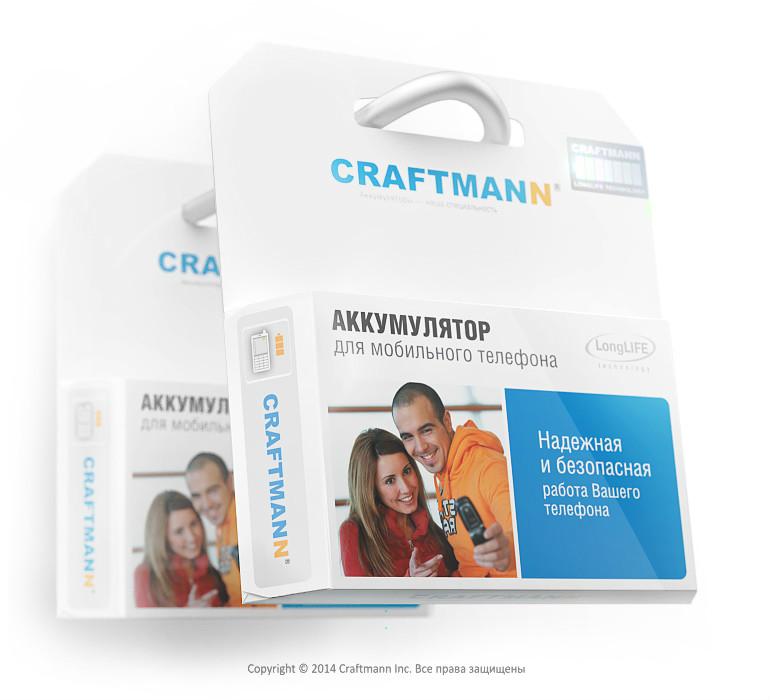 Аккумулятор Craftmann XIAOMI REDMI NOTE 2 3060mAh BM45