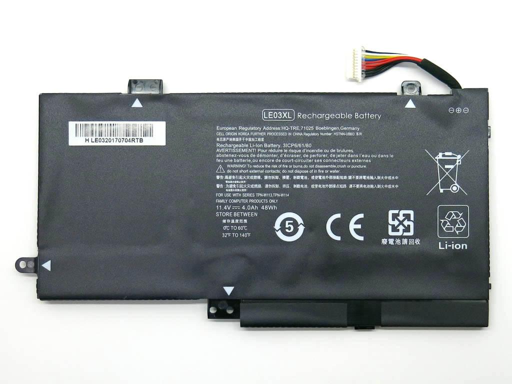 Батарея для ноутбука HP LE03 LE03XL HP ENVY x360 M6-W102Dx M6-W (11.4V