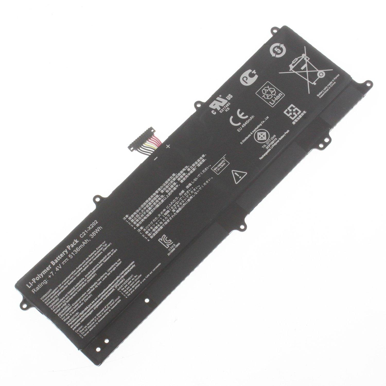 Аккумулятор Asus C21-X202 7.4V 5200mAh VivoBook Q200E S200 S200E X202