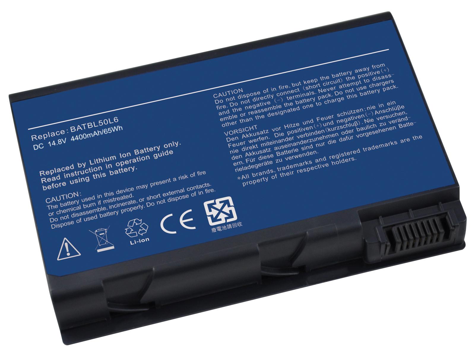 Аккумулятор Acer BATBL50L6 11.V 4400mAh Aspire 3100 5100 5610 5630